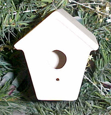 Bird House Ornament SB701