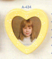 A-434 Magnet - Heart Picture Frame