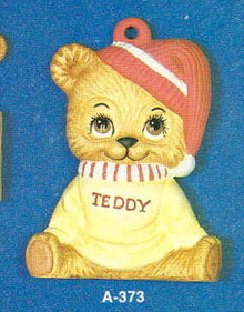 A-373 Teddy Bear Ice Skaters