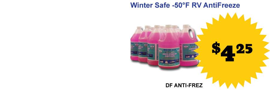 Winter Safe Antifreeze