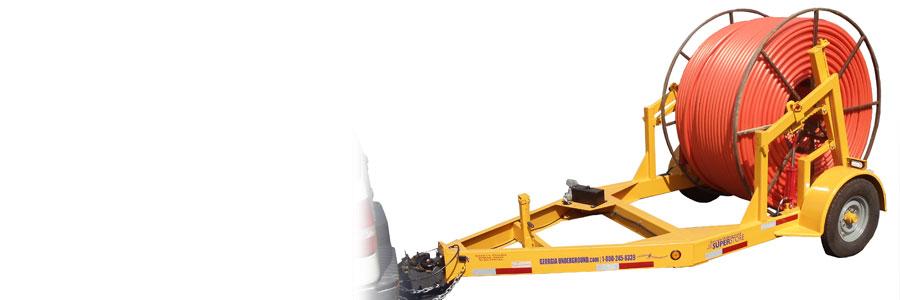 Hydraulic Reel Trailer