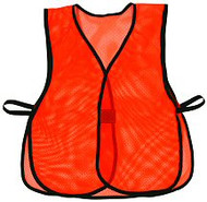 SP OK-OV Orange Mesh Vest Plain, No Reflective