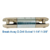 "CX08024400 Break-Away D.Drill Directional Drilling Swivel Size 1-3/8"" Break Load 6500"