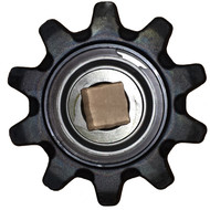 CA503664 10 Tooth One Piece Mid Idler and Boom End Idler Sprocket Assembly Includes Bearing and Snap Ring