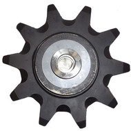 "DW140-656 10 Tooth One Piece Idler Sprocket Assembly 3.067"" Chain"