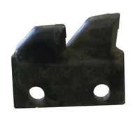 136-273 Side Mount Bolt-On Shark/Scorpion Tooth Adapter--Outside Left