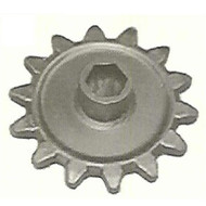 "DW142-031 14 Tooth Hex Bore Auger Drive Sprocket for 1.75"" Hex Shaft"