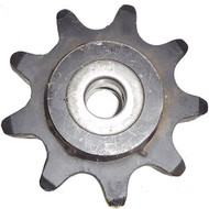 "DW140-654 9 Tooth One Piece Idler Sprocket Assembly 2.00"" Chain"