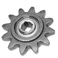 DW140-653 12 Tooth One Piece Boom End Idler Sprocket Assembly--Includes Square Hole Bearing and Snap Ring