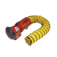 "PS 9514 8"" Blower, Electric w/15' Hose and Mounted Canister, 120vAC, 1/3hp"