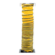 PS 9500-25 8'' x 25' Standard Hose with Cuff & Strap