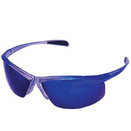 ERB-SW3020660 Smith & Wesson Gauge Safety Glasses - Blue/Silver Smoke