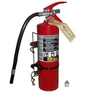 SP FE-552130 10.00 #  ABC Fire Extinguisher - Red with Wall Mount Bracket