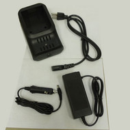The F Series Battery Charger with Power Kit. To be used with the F5, F2, and SE Receivers. Comes with AC and DC cords.