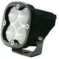 The Baja Designs Squadron Pro LED Light shines 4,300 lumens utilizing 4 Cree XM-L2 LEDs.