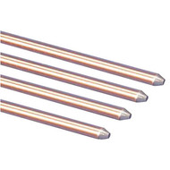 """ERT 615880 5/8"""" x 8' Copper Ground Rod"""