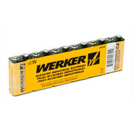 BAT 9V Werker 9V Alkaline Battery