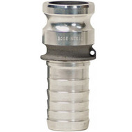 "DV 200-E-AL 2"" Alum Male Adapter x Hose Shank"