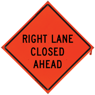 Right Lane Closed Ahead (Non-R - B NV4848RLCA