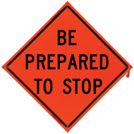 BE PREPARED TO STOP Vinyl NF O - B NV4848BPTSOC