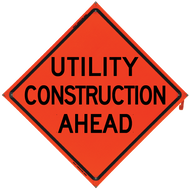 UTILITY CONSTRUCTION AHEAD Vin - B NV4848UCAOC