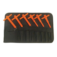 1000V Insulated Metric T-Handle Hex Key Set, 6-Piece