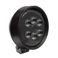 12-watt HDI Series LED Equipment Light, Spot/Wide Beam