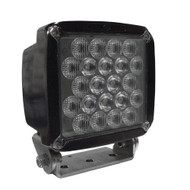 50-watt HDI Series LED Equipment Light, Spot/Wide Beam