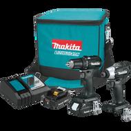 Makita CX200RB  18V LXT® Lithium‑Ion Sub‑Compact Brushless Cordless 2‑Pc. Combo Kit (2.0Ah)