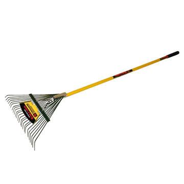 STSR22 Leaf Rake With Spring Brace, Fiberglass
