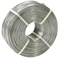 """AE 045SS302 302 Stainless Steel Lashing Wire, .045"""" in Diameter, Tensile Strength 95,000 - 125,000 PSI, 1200' per Coil"""