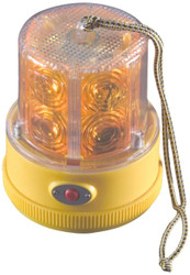 NA PSLM2-A Battery Operated LED Safety Light, Mag mount, Amber