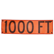 B A4PZ0885 PG Overlay  ''1000 FT''  Premium Grade Button-On Overlay