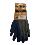 GL 39-C1305-M Glove, Latex Crinkle Grip Blue/Gry Palm Thumb & fingers G-TEK Size: Medium