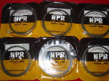 (6) CBX PISTON RING SET STD.