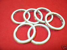 (6) HONDA GL1500, GL1800 EXHAUST GASKETS