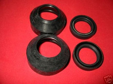 2 sets of  KZ305 KZ400 KZ440 KX80 FORK SEALS, WIPERS