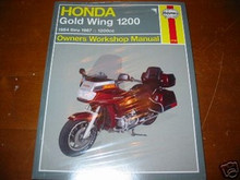 HAYNES 84-87 GL1200 REPAIR MANUAL