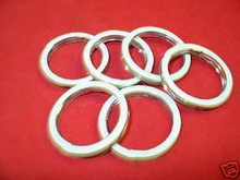 (6) GL1500, GL1800 EXHAUST GASKETS