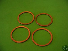 4x new Z1 KZ900 KZ1000 KZ1100 ZX1100 ZN1100 ZG1200 ZX750 EXHAUST GASKETS