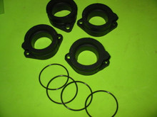 4X NEW ZRX1100 ZRX1200 ZX1100E GPz CARB HOLDERS & ORINGS ZR1100C ZR1200A