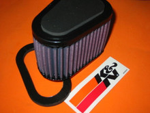 K&N 97-02 S1 S1W S3 S3T M2 X1 AIR FILTER ELEMENT THUNDEBOLT LIGHTNING BU-1297