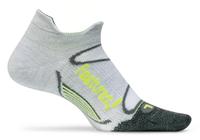 Feetures Elite Merino+ Ultra Light No Show Tab silver reflector