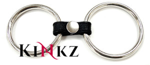 Gates of hell 2 ring cock and ball ring stainless steel cockring bondage bdsm fetish
