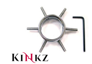 STAINLESS STEEL COCK RING CLAMP