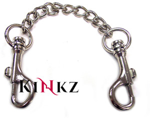 METAL DOUBLE TRIGGER HOOK WITH CHAIN BDSM FETISH