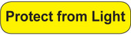 C-18 Medication Instruction Stickers - Protect from Light