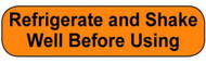 C-23 Medication Instruction Sticker - Refrigerate and Shake Well Before Using
