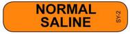 SY-2 Syringe Label - Normal Saline