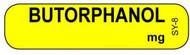 SY-8 Syringe Label - Butorphanol